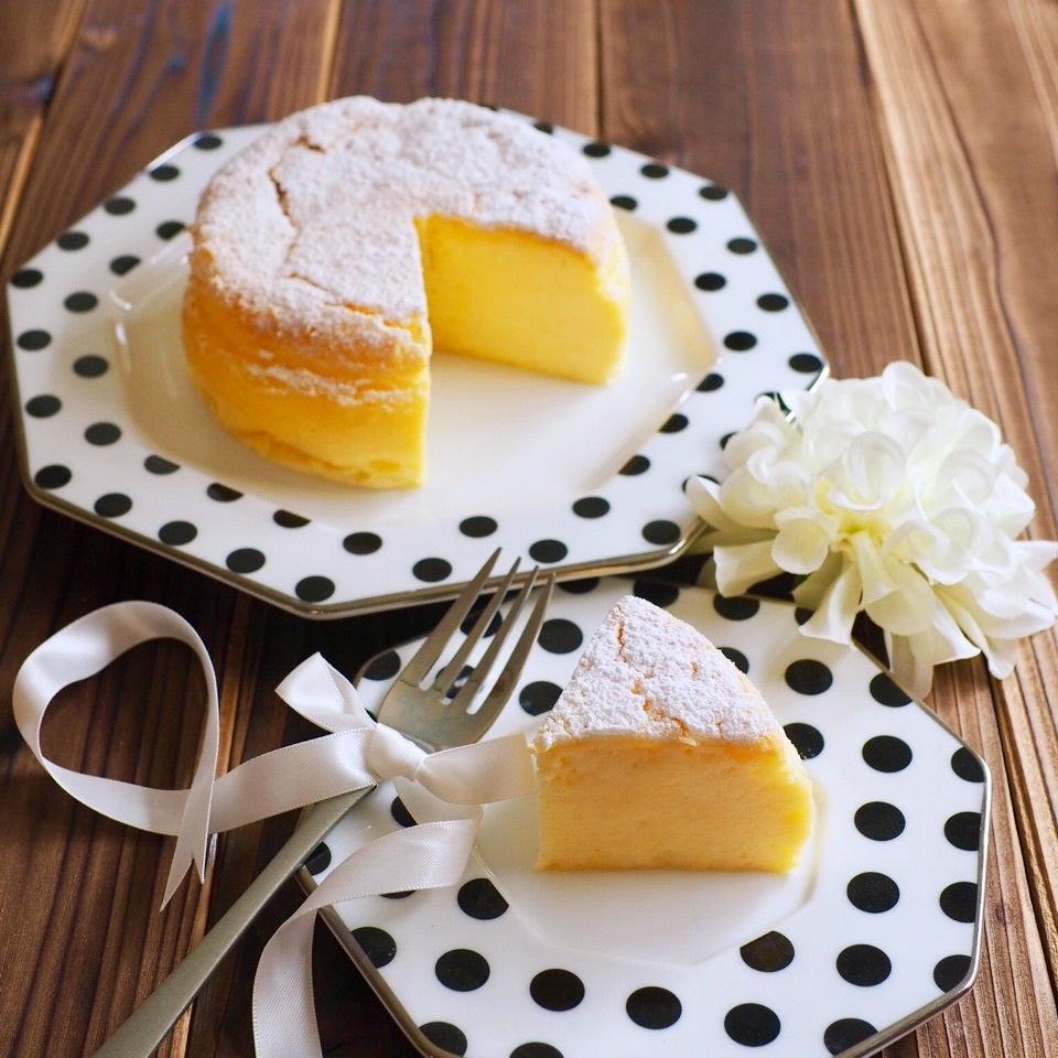 5、ホワイトチョコレートチーズケーキ