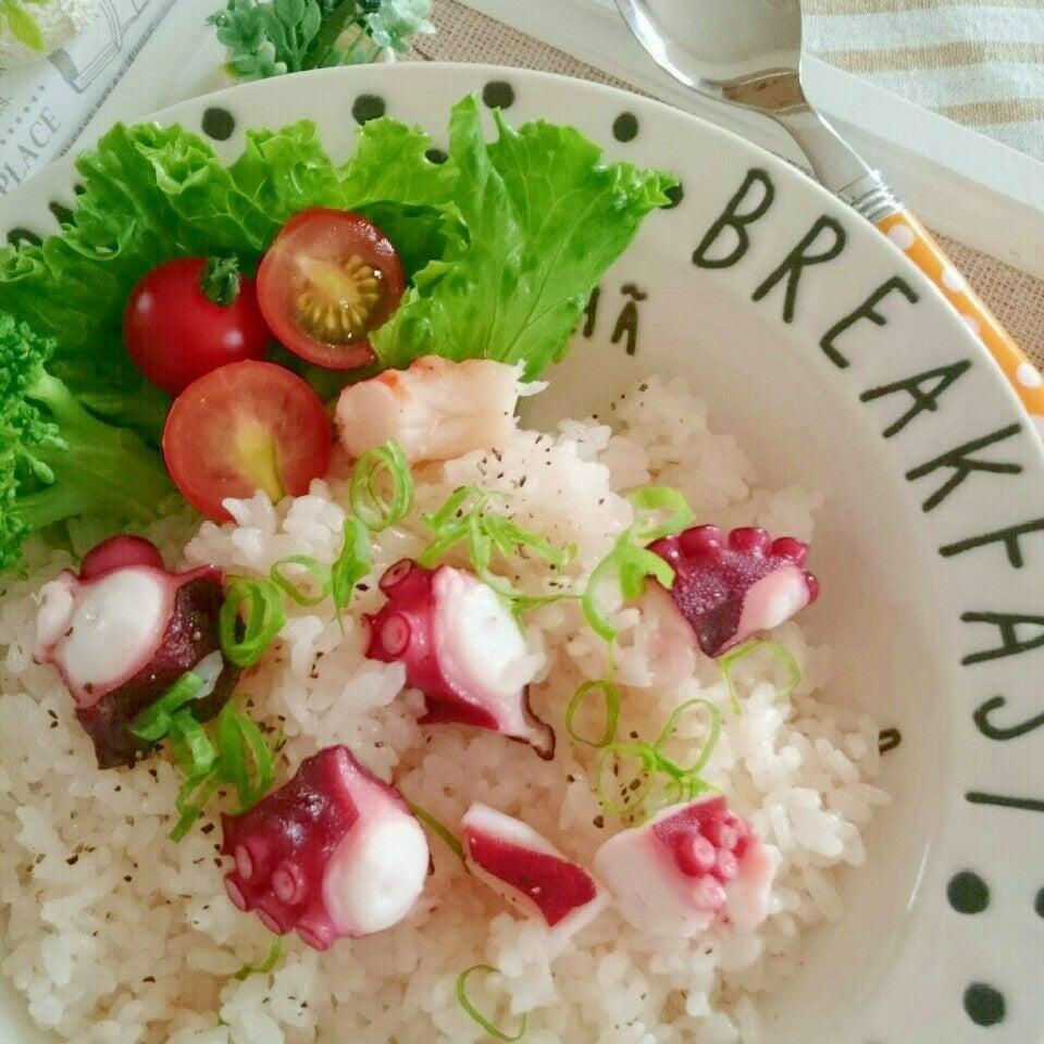 激ウマ【たこ飯】レシピ教えて!炊飯器にまかせっきりでもおいしく♡