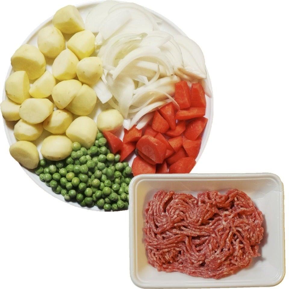 合 レシピ 挽き肉 豚 牛