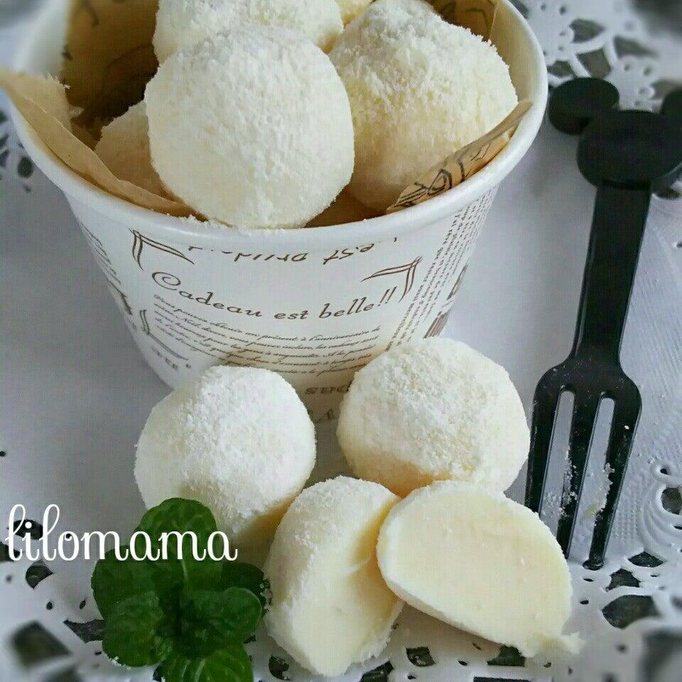 ホワイトチーズ生チョコトリフ
