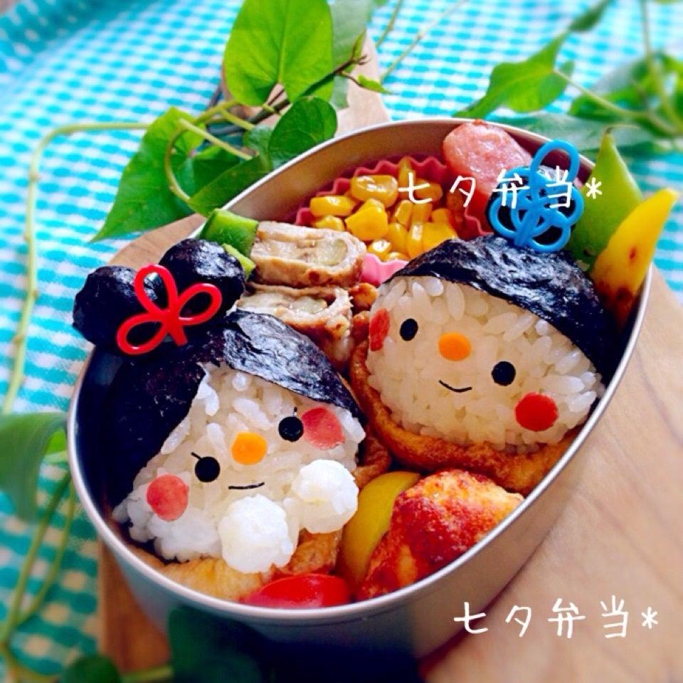 七夕弁当の画像