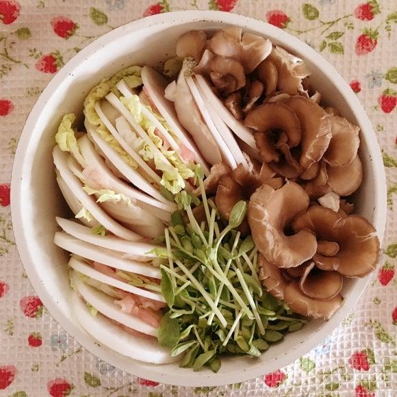 豚肉&白菜&大根のミルフィーユ鍋