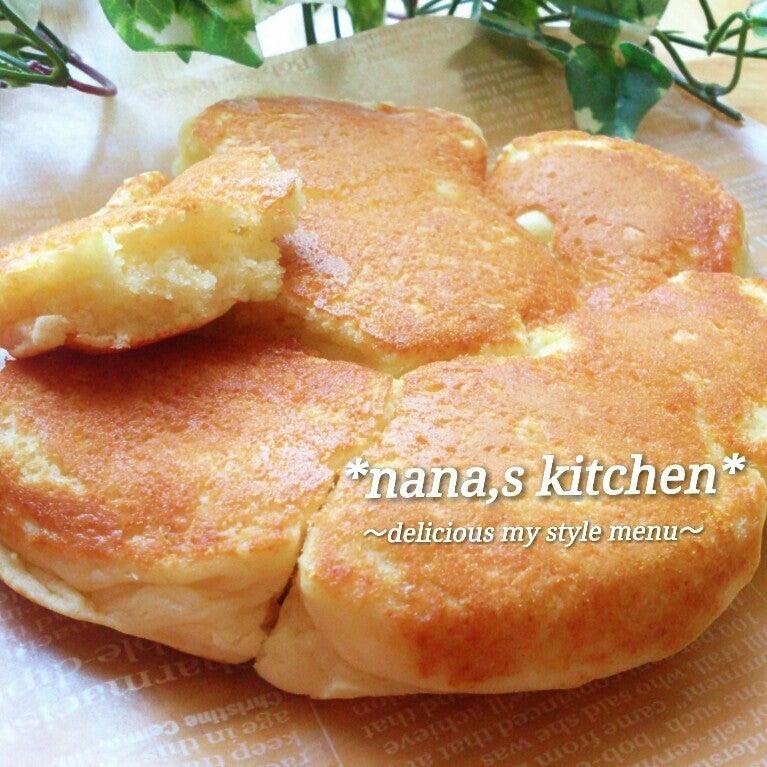 塩バター味のちぎりパンケーキ