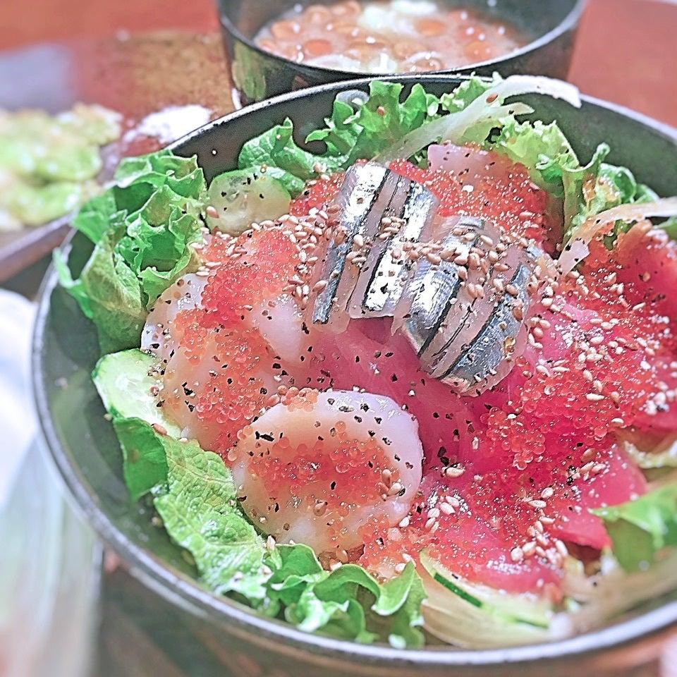 海鮮サラダ丼