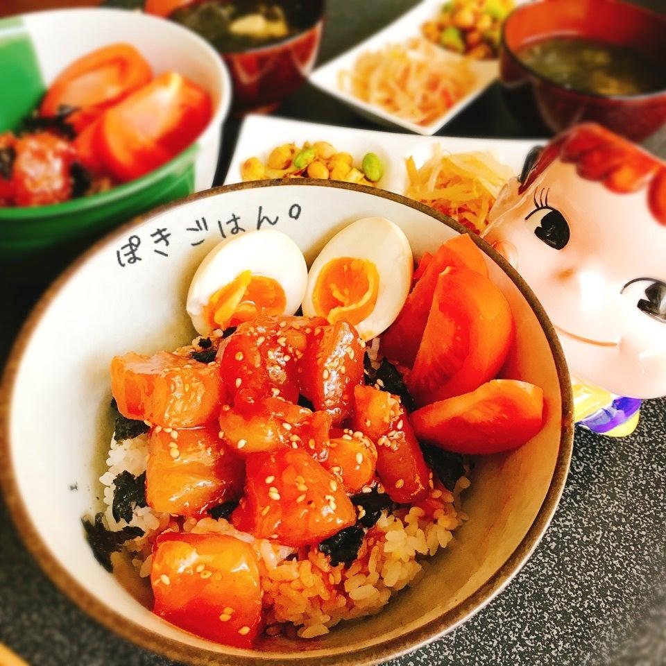 韓国風ポキ丼