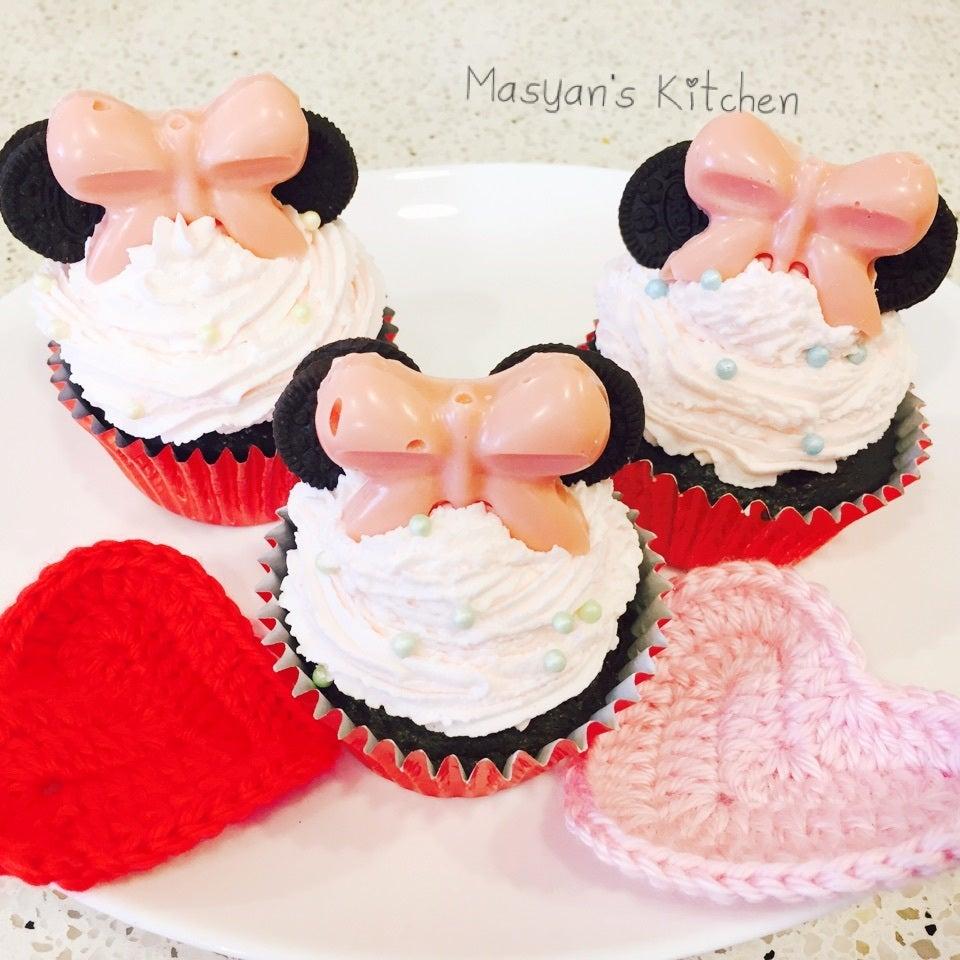 絞って飾ってデコレーション♪「かわいいカップケーキ」のレシピ13選の画像