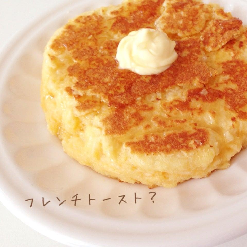 パン粉のフレンチトースト