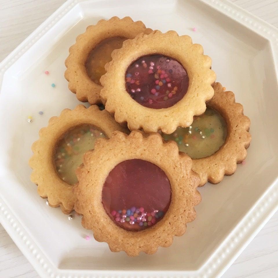 丸型のシャカシャカクッキーの画像
