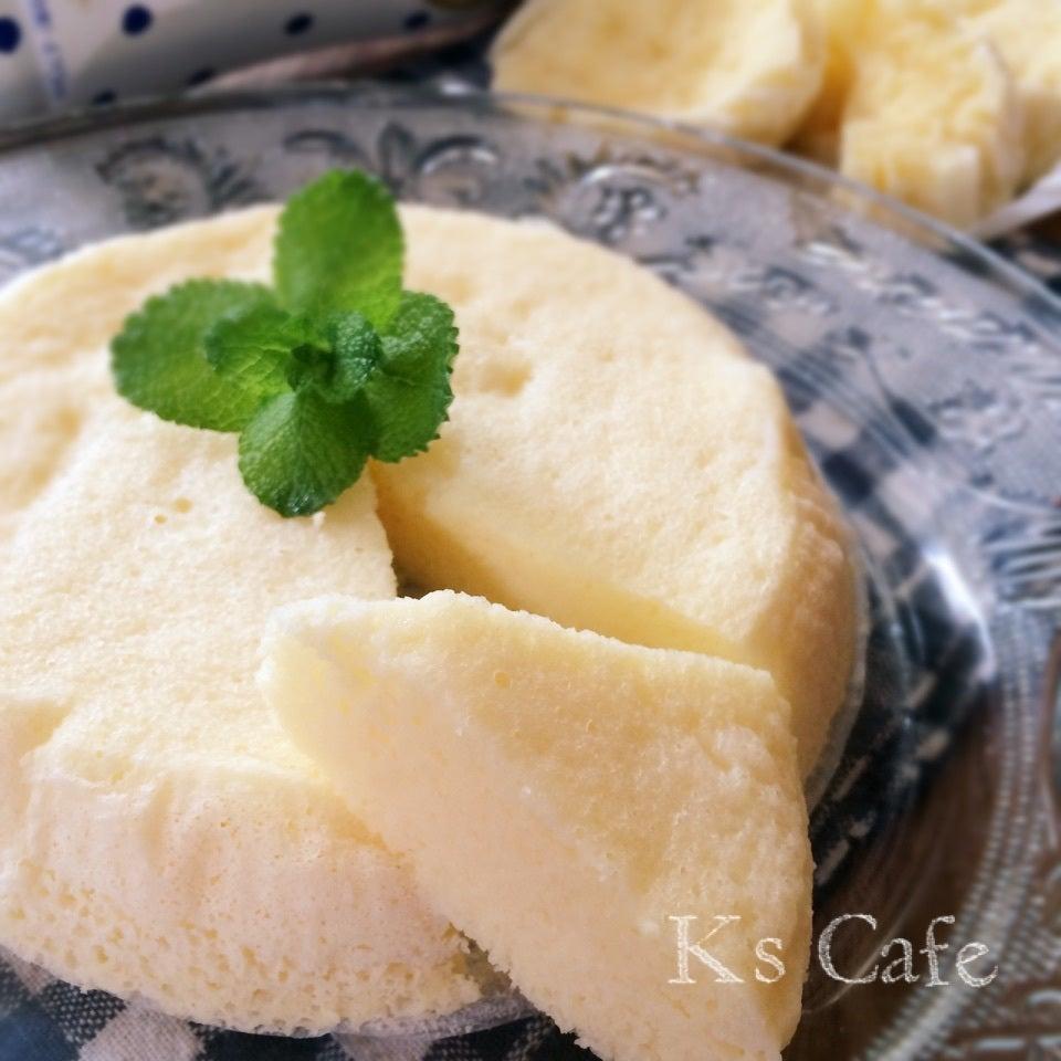 8. カルピス蒸しケーキ