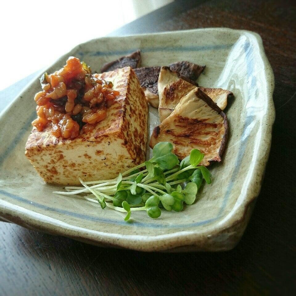 ナスと焼き豆腐