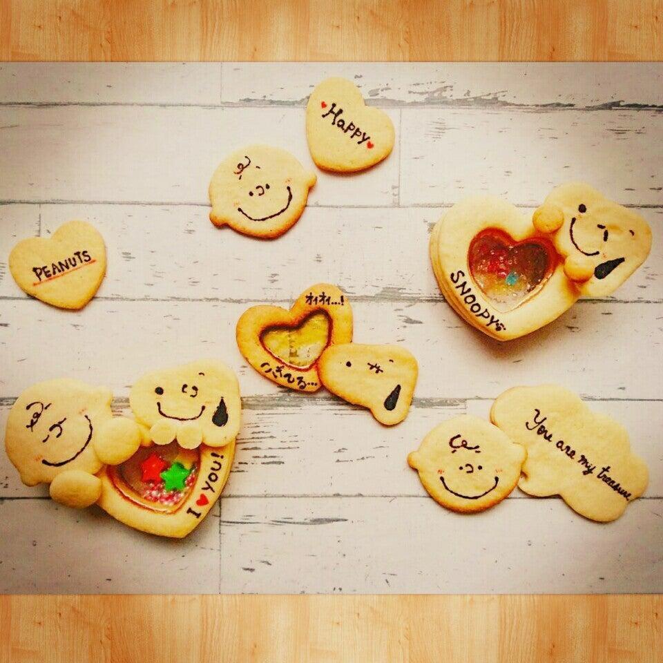 スヌーピーのシャカシャカクッキーの画像