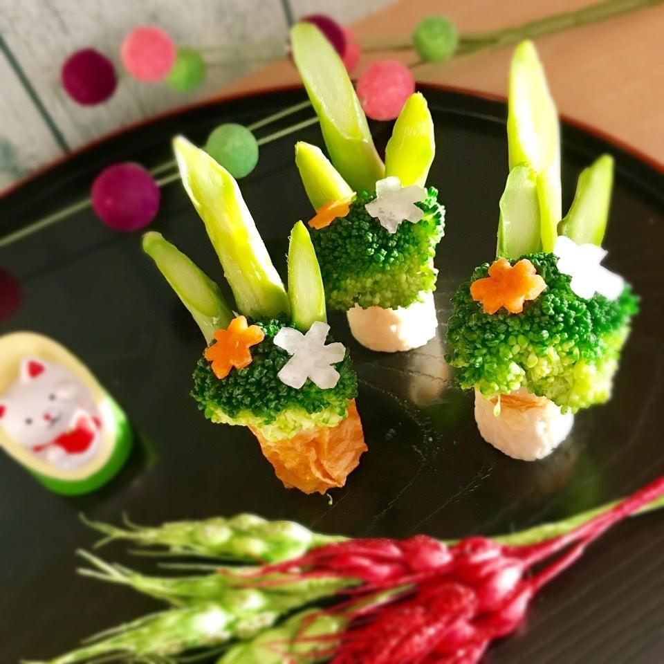 今年は「ちくわ門松」で新年をお祝い♪